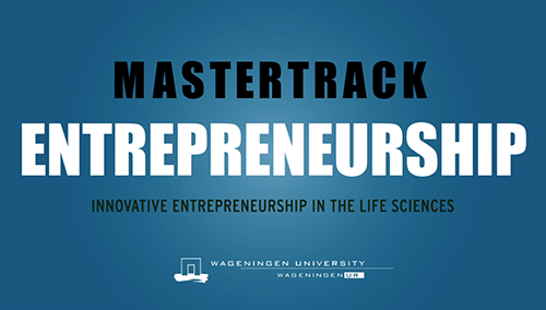 VIDEO MASTERTRACK ENTREPRENEURSHIP